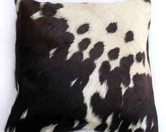 Natural Cowhide Luxurious Hair On Cushion/ Pillow Cover (15''x 15'') A28