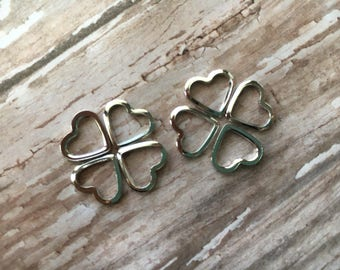 Knitting stitch markers small metal hearts light for lace knitting