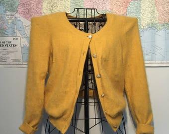 HWR (monogram) Anthropology cardigan sweater