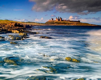 Dunstanburgh Castle #1 Northumberland England