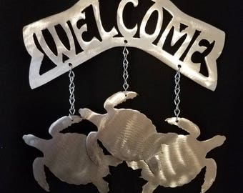 Turtle Welcome Wind Chime