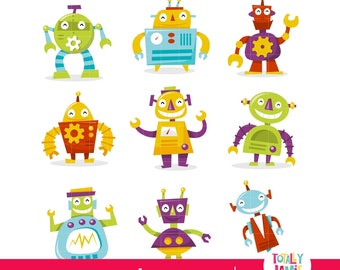 Robots cliparts\ robot clip art\ Cute robots cliparts\ Retro Robots Cliparts\ Robot clipart