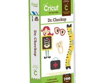 New Cricut Dr. Checkup Cartridge 2001254