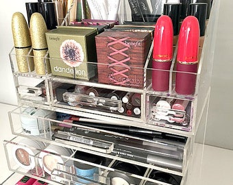 The Makeup Organizer By MakeupOrganizer On Etsy - Acrylic makeup organizer