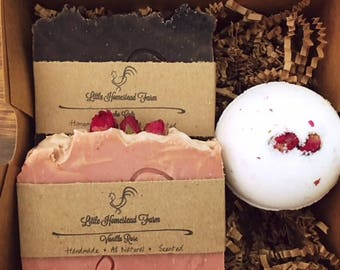 Rose and Chocolate Gift Set
