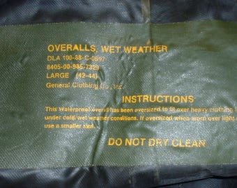 Waxed Cotton Wet Weather Cape