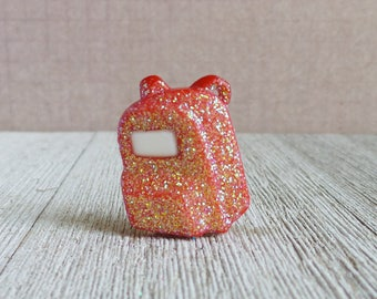Red Backpack - School - Teacher - Student - Lapel Pin
