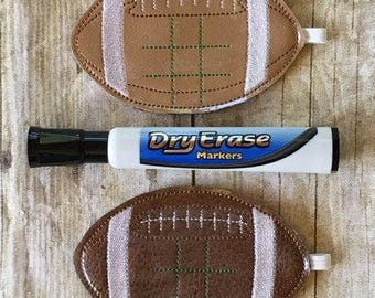 Football - In the hoop -  Tic Tac Toe Board Game -DIGITAL EMBROIDERY DESIGN