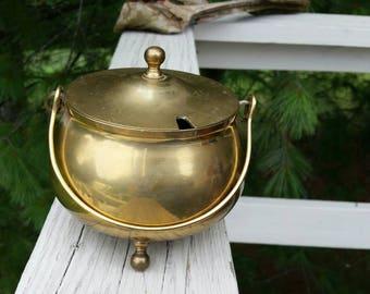 Brass Fire Starter Pot Smudge Pot