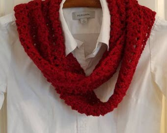 Lacy Crochet Scarf - 22 Colors to Choose From!