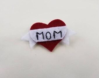 Mom Brooch