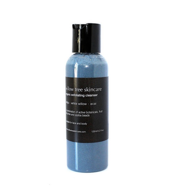 Facial Cleansing Exfoliant with Indigo, Fruit Enzymes and Jojoba Beads