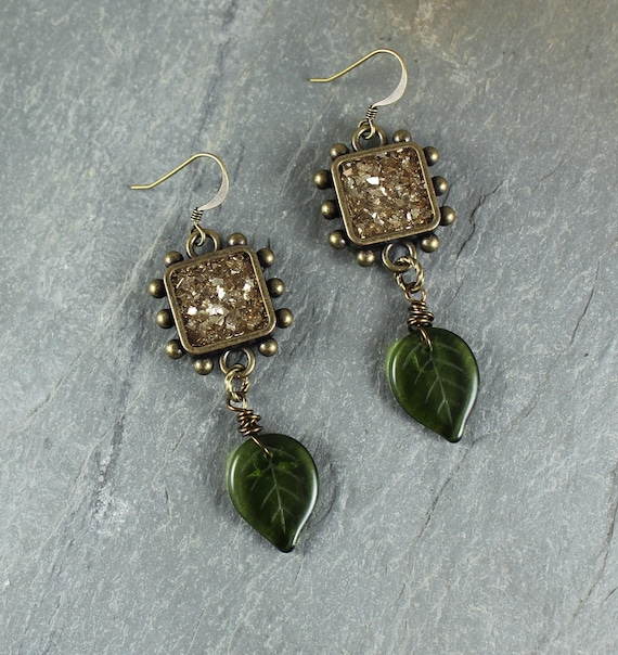 Bohemian Chic ~ Forest Fairy ~ Sparkle earrings
