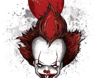 Pennywise A4  Print