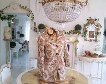 vintage damask upholstery xviii style marie antoinette louis versailles roses baroque