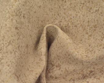 "Fashion Gold Speckled Camel Leather Pig Hide 12"" x 12"" Project Piece 1 oz TA-56796 (Sec. 5,Shelf 2,B)"