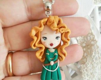 Merida ribelle The brave disney necklace