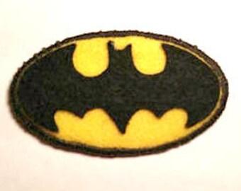 Batman Logo Badge Pin Button Patch