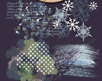 Digital Scrapbook, Graphics, Artsy Stamps: Sparkle