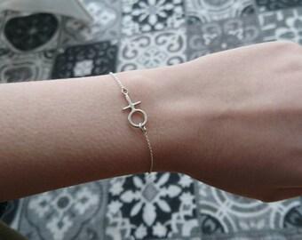 Sterling Silver Feminist Venus Bracelet
