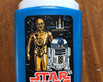 Vintage 1970 Star Wars thermos