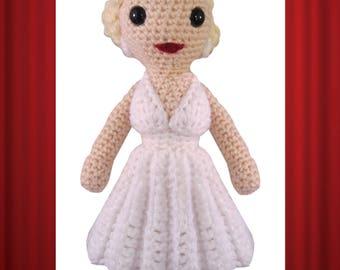 Marilyn Monroe Crochet Pattern