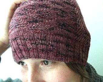 Playlines Hat Knitting Pattern