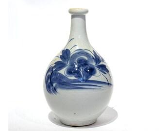 Japanese Ceramic Sake Jar - FREE SHIPPING