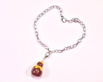 Lemon religious bracelet
