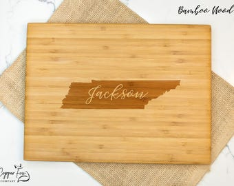 Tennessee gifts etsy tennessee gift cutting board housewarming gift tennessee graduation gift wedding gift personalized negle Choice Image
