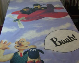 Vintage Wallace and Gromit Single Duvet Cover & Pillowcase
