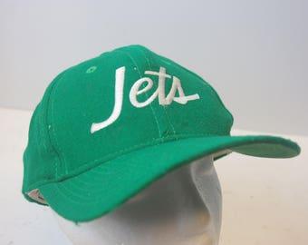 Sports Specialties JETS NFL hat cap snapback 90s football script