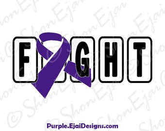 Fibromyalgia Svg, Pancreatic Cancer, Alzheimers, Epilepsy Svg, Chiari, Crohns, Colitis, Lupus SVG, Sarcoidosis, Purple, Cancer Svg