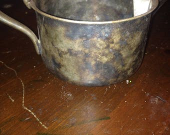 Vintage U.S.Navy Reed & Barton  Silver Soldered Coffee Creamer