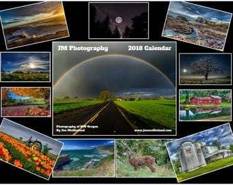 2018 Photo Calendar of Northwest Oregon