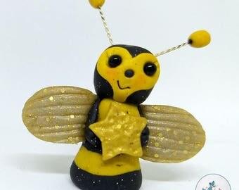 Polymer Clay Bug - Bee