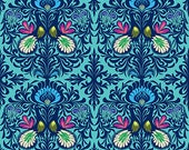 Amy Butler Soul Mate -- Fat Quarter of It Takes Two in Aqua