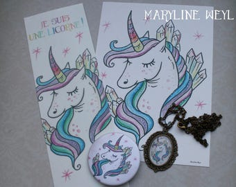 "Nice set magical ""Rainbow Unicorn"""