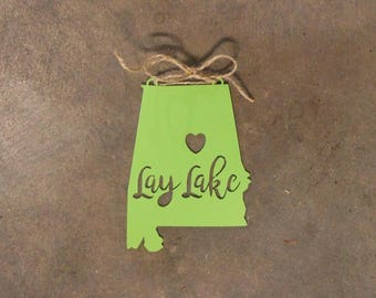 Lay Lake Ornament
