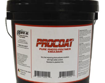 Procoat Screen Printing Emulsion - Gallon