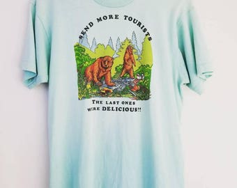 Vintage Tourists Camping Tee
