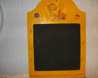Retro slate for a child's gift