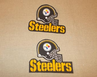 Appliques - NFL - Pittsburgh Steelers - Sew on or No Sew