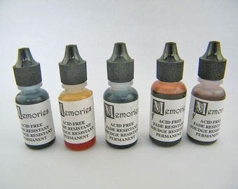 Memories Ink Refill Bottle Re-Inker Destash