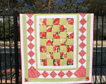 Lap quilt of small single bedspread