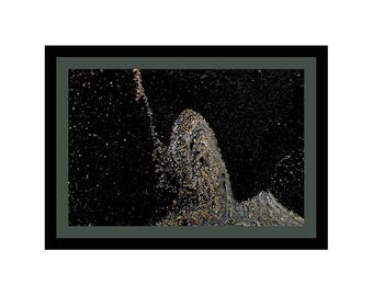 ASTRAL PROJECTION - Black Frame / Grey-Green Matte