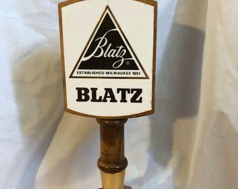 1970's Blatz Beer Tap