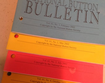 National Button Bulletins