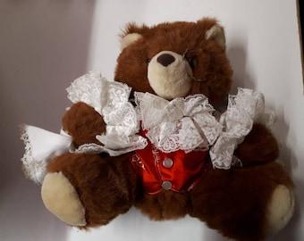 SALE teddy bear top bag