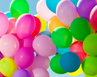 """30 pcs 12"""" Thicken Colored Balloons - 12 inch Latex Balloon - Wedding, Valentine's, Birthday, Baby Shower, Party, Decor, Props"""